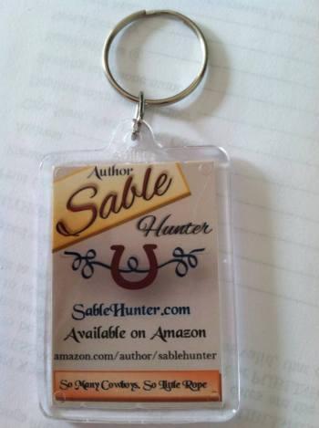 Sable keychain
